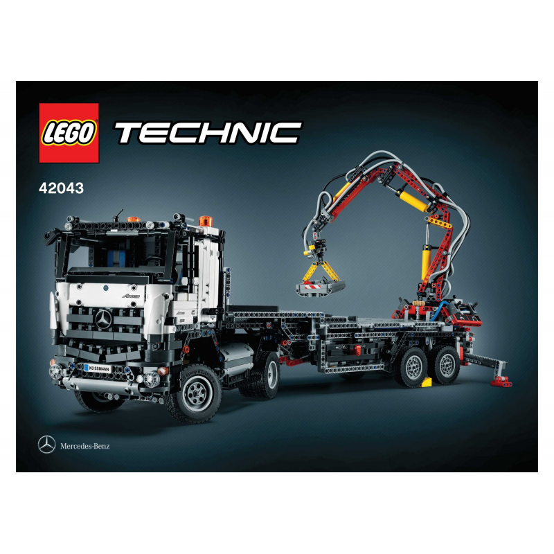 lego technic mercedes benz arocs 3245 42043 retired. Black Bedroom Furniture Sets. Home Design Ideas