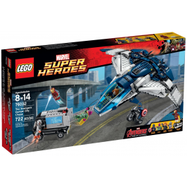 Lego Super Hero The Avengers Quinjet City Chase 76032 (Retired product)