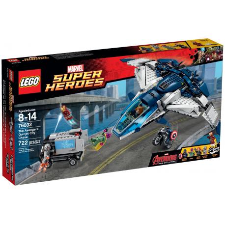 Lego Super Hero The Avengers Quinjet City Chase 76032